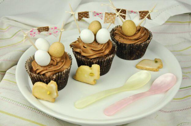 Oster-Cupcakes, Rezepte, Süßspeise, vegetarisch, Zutaten, www.wo-der-pfeffer-waechst.de