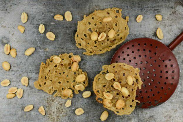 Rempeyek Kacang, Erdnusscracker, Indonesien, Indonesische, vegetarische, vegane Rezepte, Zutaten, Kochen, Gerichte, Speisen, Essen, www.wo-der-pfeffer-waechst.de