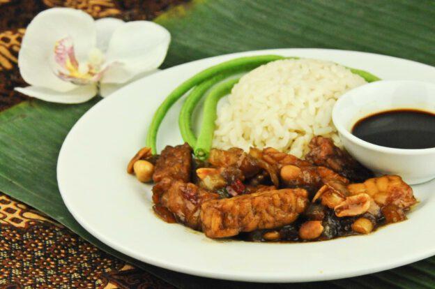 Tempeh Kering, Rezept, Indonesien, Indonesisches, Kochen, Gerichte, Zutaten, Essen, Speisen, Küche, vegetarisches, veganes, www.wo-der-pfeffer-waechst.de